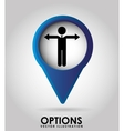 options icon vector image