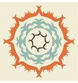 Swirl Emblem vector image