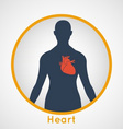 Heart Poster vector image