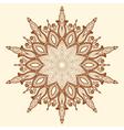 Mandala Beautiful hand-drawn flower vector image