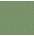 ornaments background green vector image
