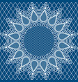 wedding lace pattern2 vector image