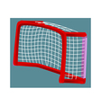 icon goalpost vector image vector image