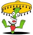 Crazy Cactus vector image