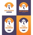 Ghost labels vector image