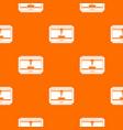 3d printer printing cup pattern seamless vector image
