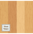 Wood texture set vector image