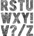 fingerprints vector image vector image