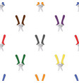 seamless pattern with pliers vector image