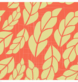 Seamless pattern with pink leaves 2 vector image