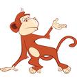 Cute Monkey Mandrill Cartoon vector image
