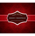 Abstract background with Merry Christmas sign vector image vector image