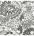 Vintage Ethnic Seamless Background Boho Pattern vector image