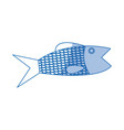 fish sea food fresh animal wild icon vector image