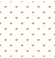 seamless retro pattern with bow tie vector image