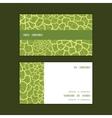 abstract green natural texture horizontal vector image