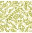 Seamless plant background vector image