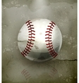 Baseball old-style vector image