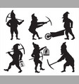GNOMES Silhouettes SET1 vector image