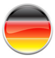 federal republic of Germany flag vector image
