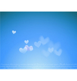 dream with hearts vector image vector image