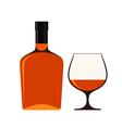 Cognac vector image vector image