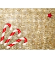 Christmas gold Background EPS 10 vector image