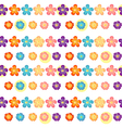 A flowery wallpaper design vector image vector image