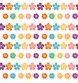 A flowery wallpaper design vector image