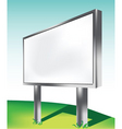 advertising screen vector image vector image