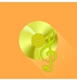 Gold Disc vector image