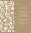vintage banner design with round halftone design vector image