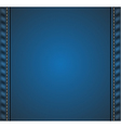 Denim background vector image