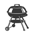 grill icon isolated on white background design vector image