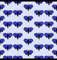pattern with the image of butterflies with a vector image