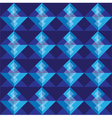 Royal blue square seamless pattern blackground vector image