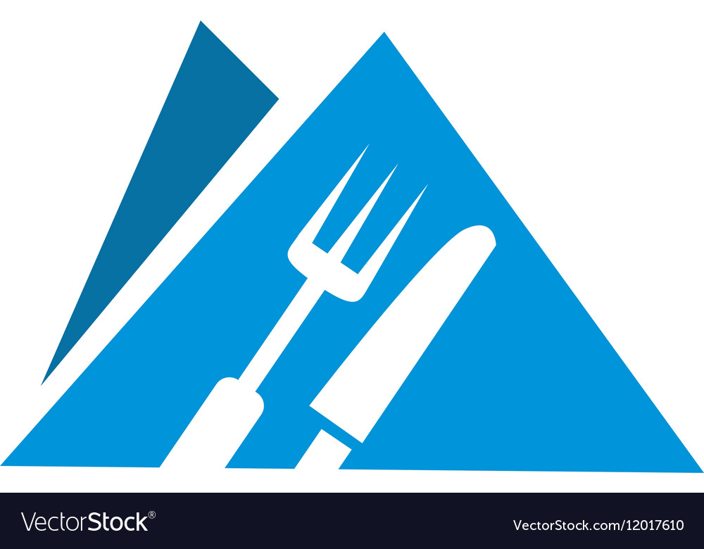 Logo food vector