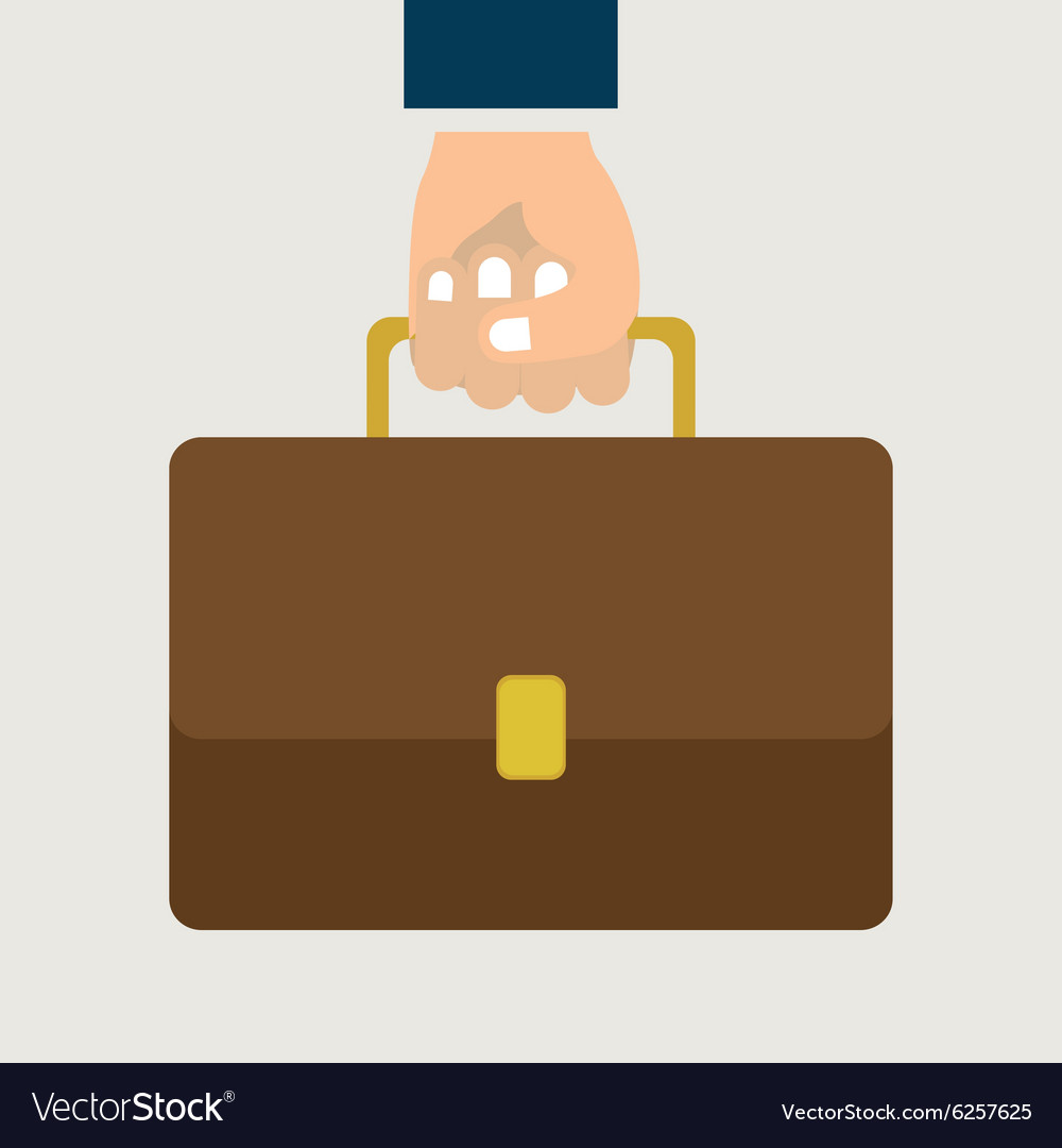 Suitcase design vector