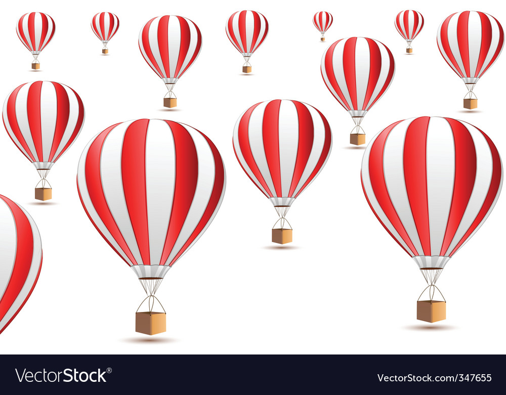 Parachute icons vector