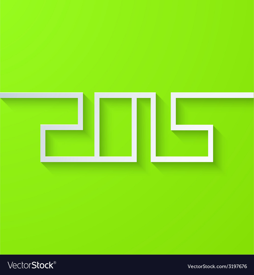 Modern new year 2015 background vector