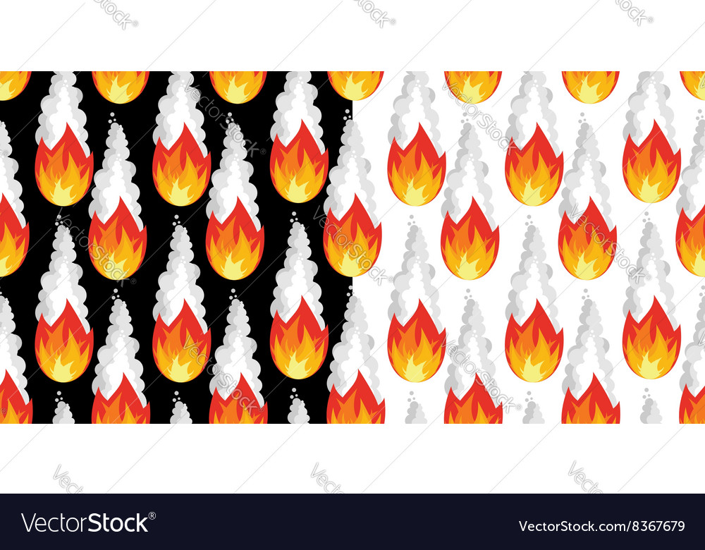 Meteor shower seamless pattern falling meteorite vector