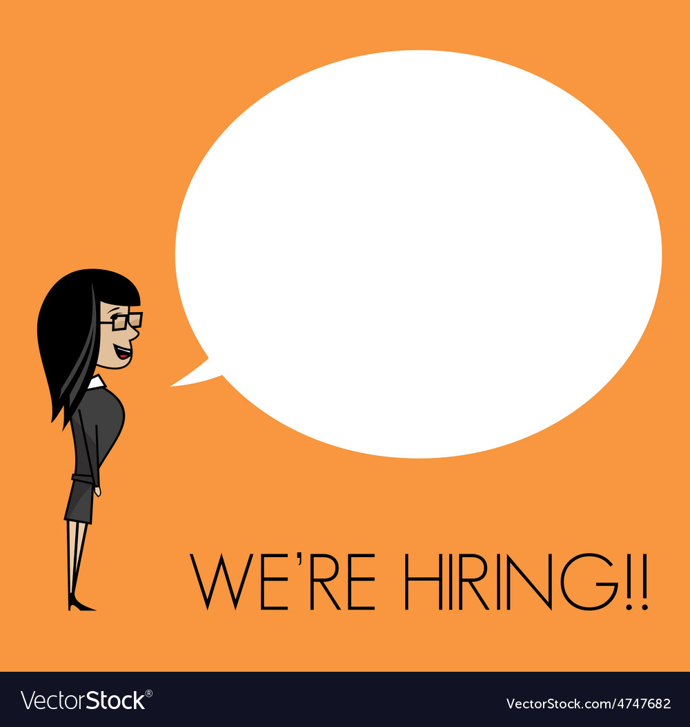 We are hiring3 resize vector