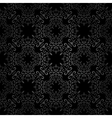 Seamless black pattern vector image vector image