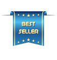 Premium best seller ribbon graphic object for your vector image vector image