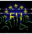 European Freedom vector image