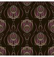 Seamless beautiful antique art deco pattern vector image