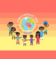 international day of african child commercial vector image