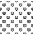 soccer scoreboard pattern vector image