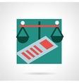 Finance flat icon vector image