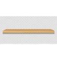 emply wood shelf vector image